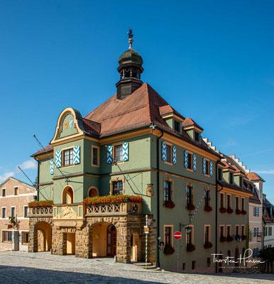 Das Rathaus von Furth im Wald