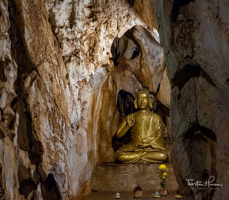 Der Vietcong benutzte die Höhlen als Versteck, Gefechtsstand, Waffenlager und Hospital;