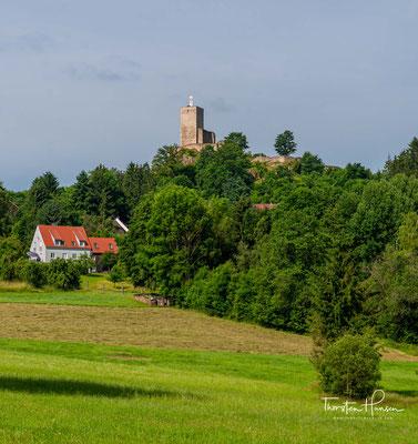Burg Murach, die ehemalige Burg zählt mit zu den größten und beeindruckendsten Burgen entlang der Böhmischen Grenze. Von der 1110 erstmalig urkundlich erwähnten und einst so imposanten Burg Murach steht nur noch eine Ruine.