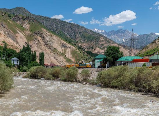 Varzob Tal in Tajikistan