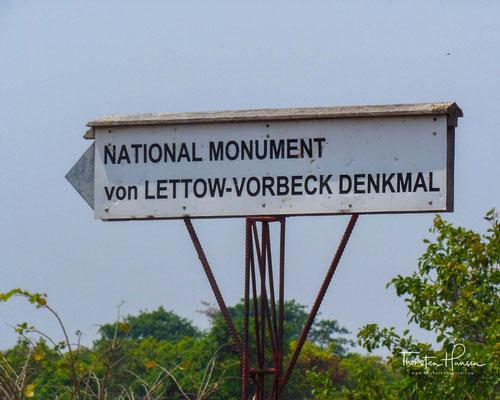 Paul von Lettow-Vorbeck Denkmal in Sambia