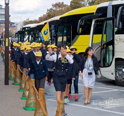 Schülerausflug in Kyoto