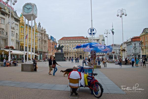 Ban-Jelačić-Platz in Zagreb