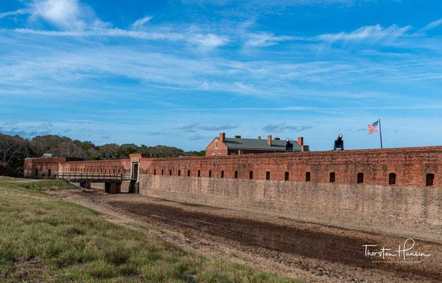 Das Fort James Jackson ist eine Küstenfestung bei Savannah im US-Bundesstaat Georgia.