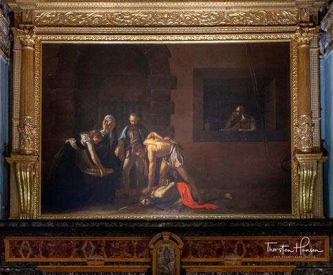 Es zählt zu den Meisterwerken des Künstlers und ist neben dem Medusenhaupt von 1596 das einzige signierte Gemälde des Meisters.