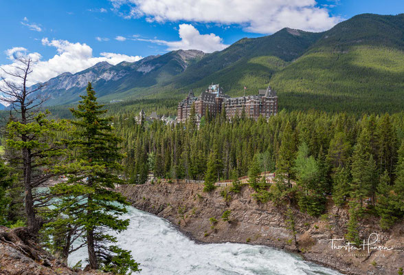 Das Fairmont Banff Springs Hotel im Nationalpark Banff