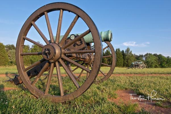 Manassas Battlefield in Virginia