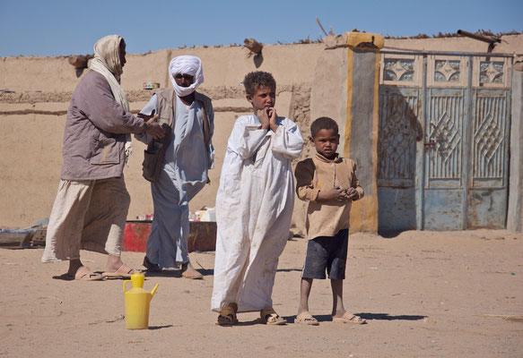 Nubisches Dorfleben