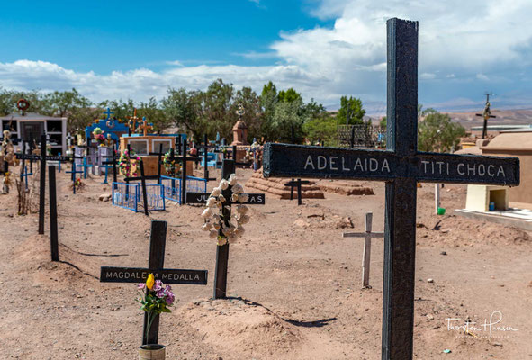 Friedhof in San Pedro de Atacama
