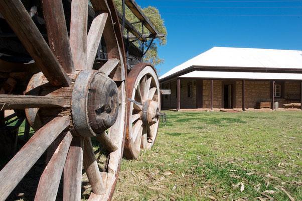 Telegrafenstation in Alice Springs
