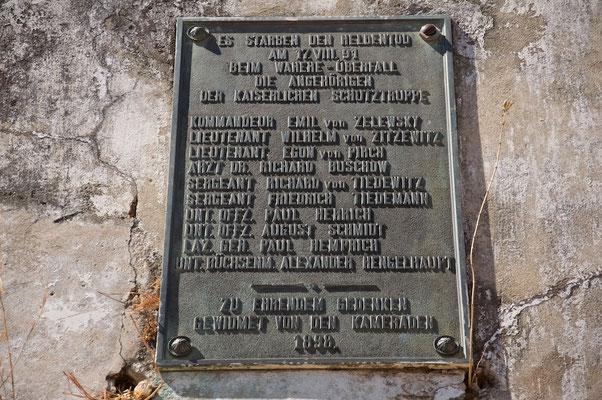 Zelewsky-Denkmal in Rugaro