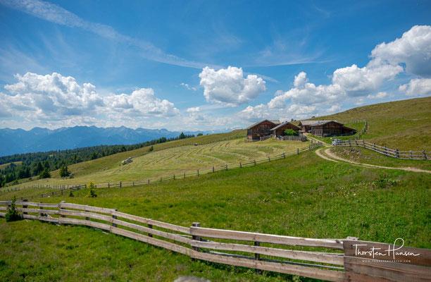 Das Gebiet der Lüsner und Rodenecker Alm im Gemeindegebiet dieser zwei gleichnamigen Südtiroler Gemeinden gehört mit über 20 km²zu den größten Hochflächen Europas.