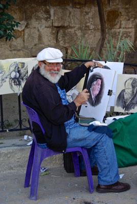 Maler in Damaskus