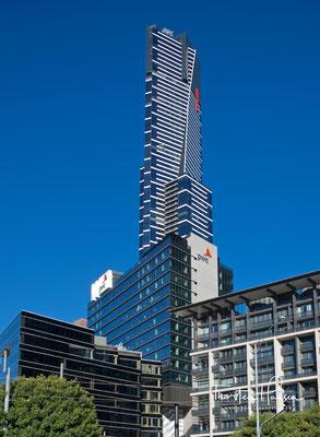 Eureka Tower in Melbourne