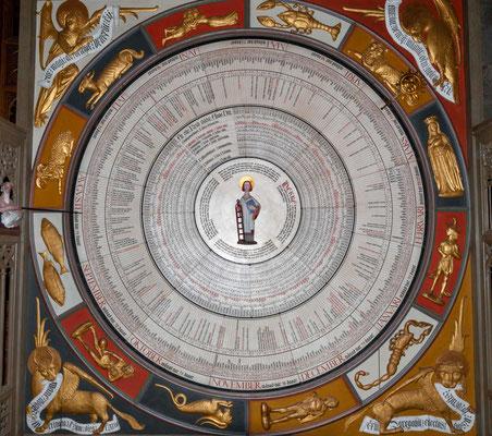 Die Astronomische Uhr Horologium mirabile Lundense wurde Ende des 14. Jahrhunderts installiert und ist möglicherweise ein Werk von Nikolaus Lilienfeld.