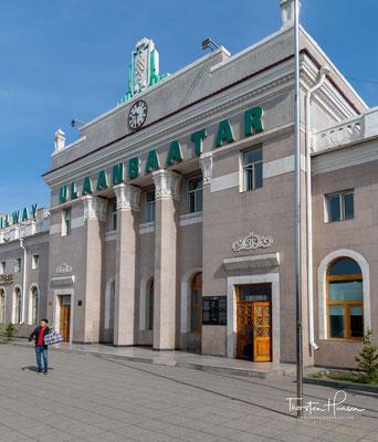 Der Bahnhof von Ulaanbaatar