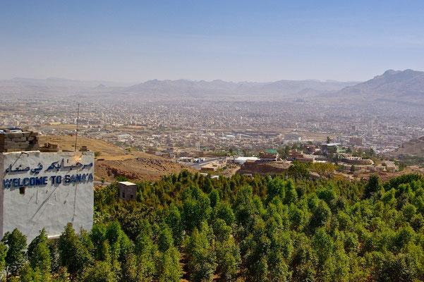 Blick ueber Sanaa