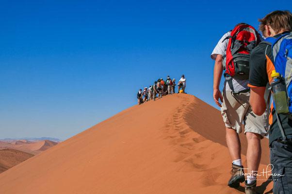 Sie gilt als höchste Düne des Gebietes und eine der höchsten weltweit.