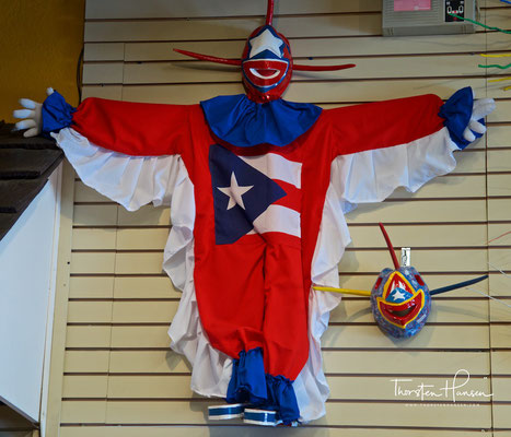 Karnevalskostüm aus Puerto Rico