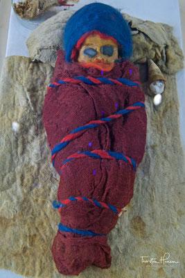 Über 3000 Jahre alte Baby Mumie