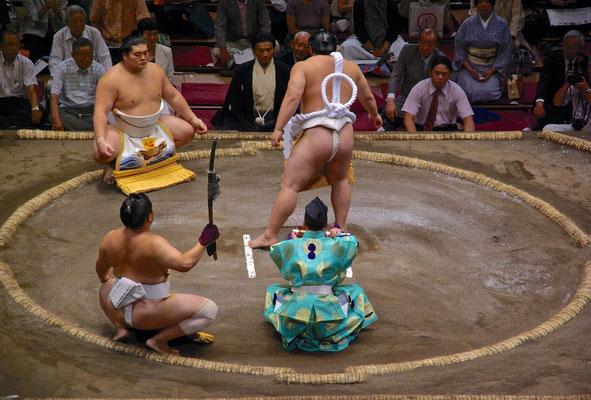 Sumo Grand Tournament in Tokio