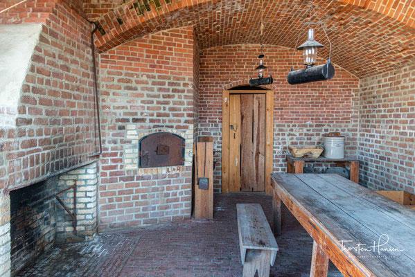 Während des Bürgerkrieges versteckten sich Bewohner von Savannah im Fort um sich vor den Angriffen der Nordstaatler zu schützen.