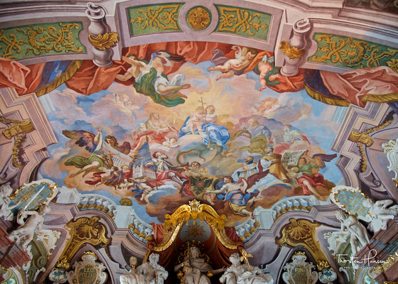 Die Aula Leopoldina ist die barocke Aula der Universität Breslau
