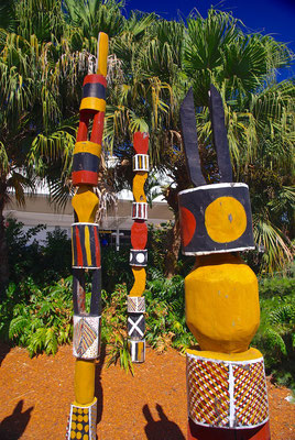 Aboriginal Totems in Cairns