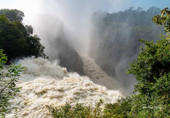 So plant die Sambesi River Authority unterhalb der Fälle den Bau eines weiteren Staudamms an der Batoka-Schlucht. Dies wäre neben dem Kariba-Staudamm und der Cahora-Bassa-Talsperre das dritte große Stauprojekt am Sambesi.