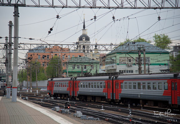 Kasaner Bahnhof in Moskau