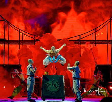 Kung Fu Show im Red Theatre
