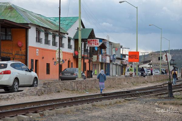 Bahnhof von Creel