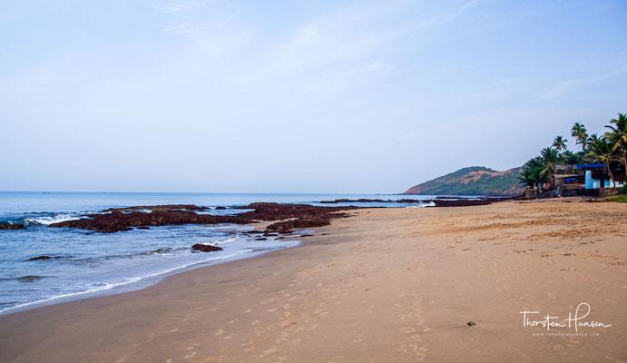 Der Strand von Anjuna ist aus meiner Sicht nicht umwerfend und da gibt es in Goa wesentlich schönere Ecken und Strände zu entdecken.
