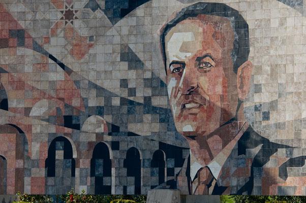 Denkmal für Hafiz al-Asad