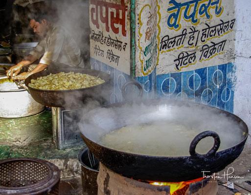 Auf dem Markt in Udaipur