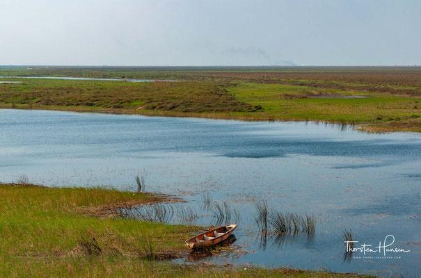 Die Bangweulusümpfe sind Teil des großen Bangweulubassins auf dem nordsambischen Plateau, das aus dem Bangweulusee und einem großen umgebenden Feuchtgebiet besteht.