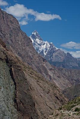 Landschaft bei Takfon im Tal des Serafschan Flusses