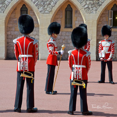 Wachablösung im Schloss Windsor