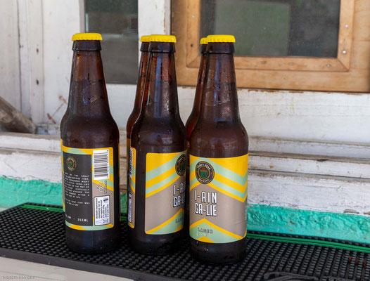 Bei der Hitze helfen nur ein oder zwei oder drei kalte Bier