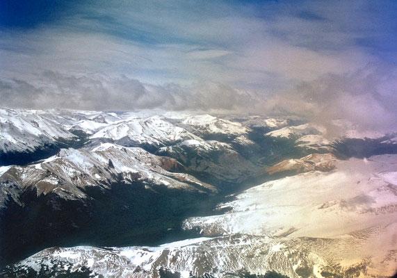 Flug nach Patagonien