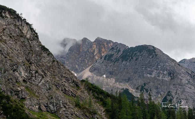 Es gibt im Karwendel 125 Gipfel, die eine Höhe von über 2000 m ü. A. erreichen.