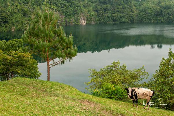 Es gibt viele zugängliche Wanderrouten in der Nähe der Seen und...