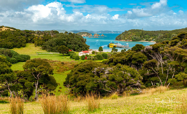 Urupukapuka Island war von den Ngare Raumati, einem der ältesten Iwi der Region, besiedelt.