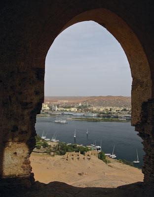 Blick auf Assuan