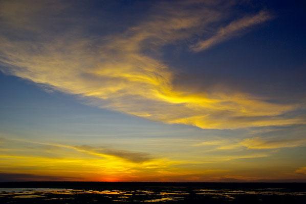 Sunset in Ubirr