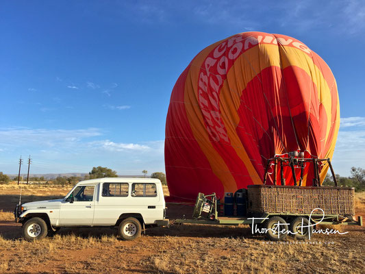 Outback Balooning in Alice Springs