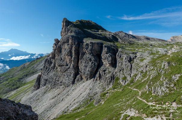 Während des Anstiegs auf das Cirjoch entfalten sich schöne Ausblicke