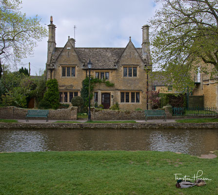 Bourton-on-the-Water in den Cotswold
