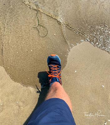 Geschafft.... Das Meer und Jesolo wären erreicht. Welch ein Moment..