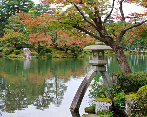Kenrokuen - einer der schönsten japanischen Gärten
